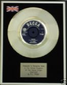 "P J PROBY - 7"" Platinum Disc - TOGETHER"